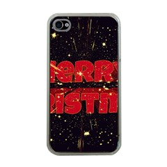Star Sky Graphic Night Background Apple Iphone 4 Case (clear)