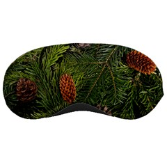 Branch Christmas Cone Evergreen Sleeping Masks