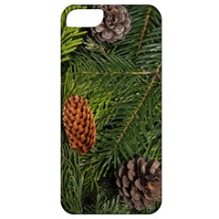 Branch Christmas Cone Evergreen Apple Iphone 5 Classic Hardshell Case