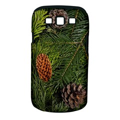 Branch Christmas Cone Evergreen Samsung Galaxy S Iii Classic Hardshell Case (pc+silicone)