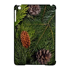 Branch Christmas Cone Evergreen Apple Ipad Mini Hardshell Case (compatible With Smart Cover)