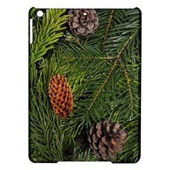 Branch Christmas Cone Evergreen Ipad Air Hardshell Cases