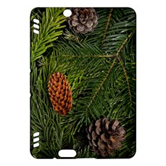 Branch Christmas Cone Evergreen Kindle Fire Hdx Hardshell Case