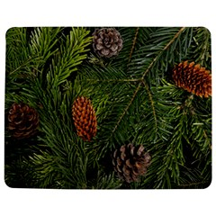 Branch Christmas Cone Evergreen Jigsaw Puzzle Photo Stand (rectangular)