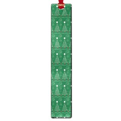 Christmas Tree Pattern Design Large Book Marks