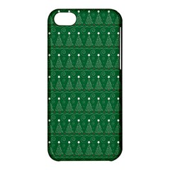 Christmas Tree Pattern Design Apple Iphone 5c Hardshell Case