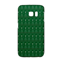 Christmas Tree Pattern Design Galaxy S6 Edge