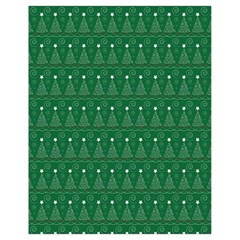 Christmas Tree Pattern Design Drawstring Bag (small)