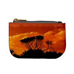 Trees Branches Sunset Sky Clouds Mini Coin Purses