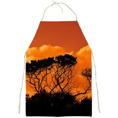 Trees Branches Sunset Sky Clouds Full Print Aprons