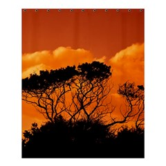 Trees Branches Sunset Sky Clouds Shower Curtain 60  X 72  (medium)