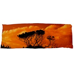 Trees Branches Sunset Sky Clouds Body Pillow Case Dakimakura (two Sides)