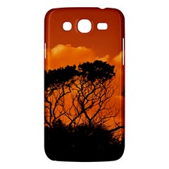 Trees Branches Sunset Sky Clouds Samsung Galaxy Mega 5 8 I9152 Hardshell Case