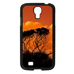 Trees Branches Sunset Sky Clouds Samsung Galaxy S4 I9500/ I9505 Case (black)