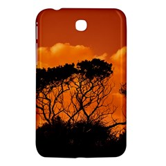 Trees Branches Sunset Sky Clouds Samsung Galaxy Tab 3 (7 ) P3200 Hardshell Case