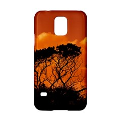 Trees Branches Sunset Sky Clouds Samsung Galaxy S5 Hardshell Case