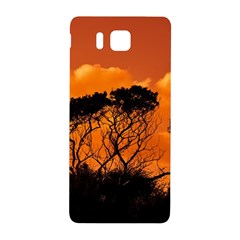 Trees Branches Sunset Sky Clouds Samsung Galaxy Alpha Hardshell Back Case
