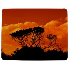 Trees Branches Sunset Sky Clouds Jigsaw Puzzle Photo Stand (rectangular)