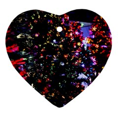 Abstract Background Celebration Ornament (heart)