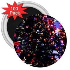 Abstract Background Celebration 3  Magnets (100 Pack)