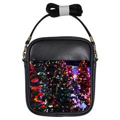 Abstract Background Celebration Girls Sling Bags
