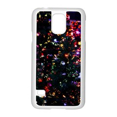 Abstract Background Celebration Samsung Galaxy S5 Case (white)