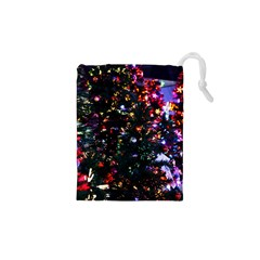 Abstract Background Celebration Drawstring Pouches (xs)