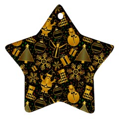 Christmas Background Ornament (star)