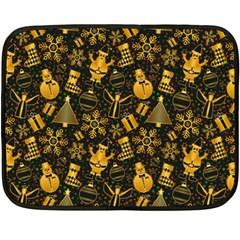 Christmas Background Fleece Blanket (mini)