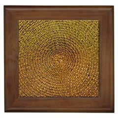 Background Gold Pattern Structure Framed Tiles
