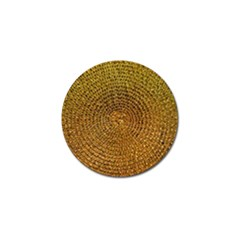 Background Gold Pattern Structure Golf Ball Marker (10 Pack)