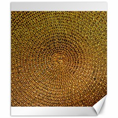 Background Gold Pattern Structure Canvas 20  X 24