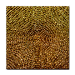 Background Gold Pattern Structure Face Towel