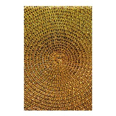 Background Gold Pattern Structure Shower Curtain 48  X 72  (small)