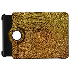 Background Gold Pattern Structure Kindle Fire Hd 7