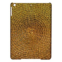 Background Gold Pattern Structure Ipad Air Hardshell Cases