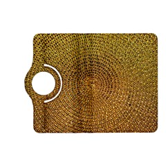 Background Gold Pattern Structure Kindle Fire Hd (2013) Flip 360 Case