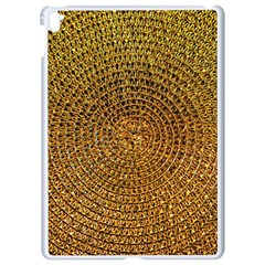 Background Gold Pattern Structure Apple Ipad Pro 9 7   White Seamless Case