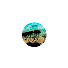 Trees Branches Branch Nature 1  Mini Buttons