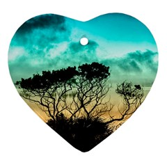 Trees Branches Branch Nature Ornament (heart)