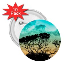 Trees Branches Branch Nature 2 25  Buttons (10 Pack)