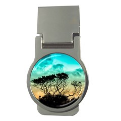 Trees Branches Branch Nature Money Clips (round)
