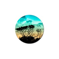 Trees Branches Branch Nature Golf Ball Marker
