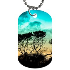 Trees Branches Branch Nature Dog Tag (two Sides)