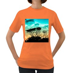 Trees Branches Branch Nature Women s Dark T Shirt