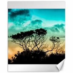 Trees Branches Branch Nature Canvas 11  X 14