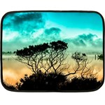 Trees Branches Branch Nature Double Sided Fleece Blanket (Mini)  35 x27 Blanket Back