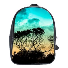 Trees Branches Branch Nature School Bag (large)