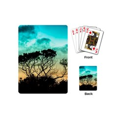 Trees Branches Branch Nature Playing Cards (mini)