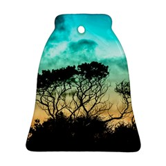 Trees Branches Branch Nature Bell Ornament (two Sides)